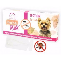 Max Herba-SPOT ON MINI dog 1x1ml do 15kg- Fine dog