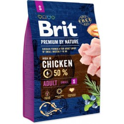BRIT dog Premium By Nature ADULT S - 3kg