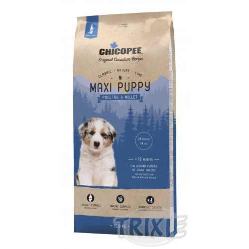 CHICOPEE CN PUPPY MAXI poultry - 15kg